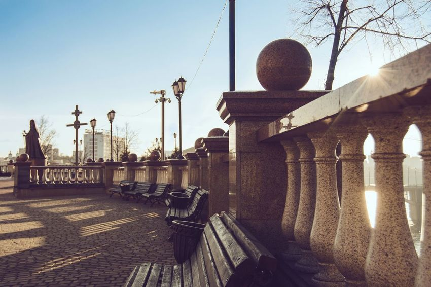 Street Architecture Architecture Street Photography Day Sunlight Light And Shadow From My Point Of View By Ivan Maximov City Architecture Vitebsk,Belarus Belarus City Eyeem Photo The Week On EyeEm Travel Destinations Traveling Sky Street Light Outdoors Day Shadow City No People