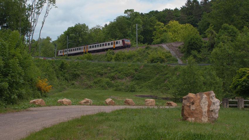 Eisenbahn La France Luxembourg Railway Triebwagen