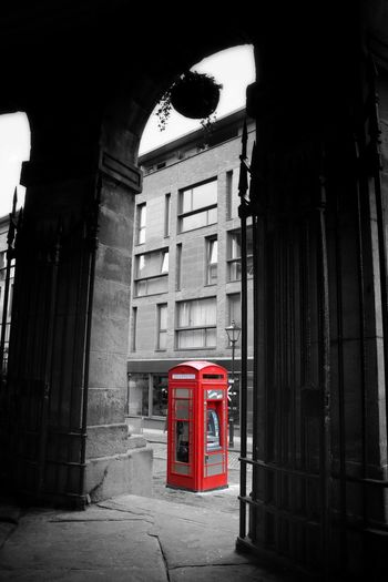 Colourpop Colorpop Red Colourful Colorful Telephone Cashmachine Atm Yorkshire Leeds Cornexchange Streetphotography