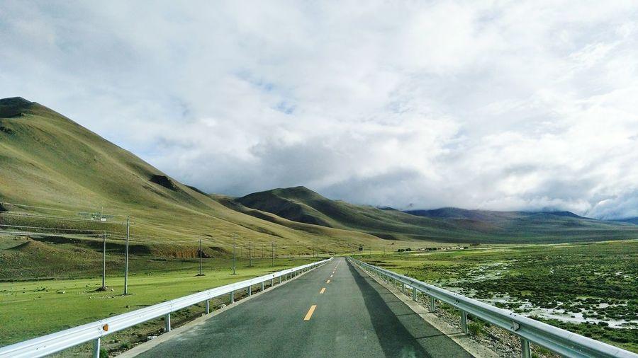 Mountain Road Rural Scene Winding Road Road Trip Car Highway Driving Sky Landscape