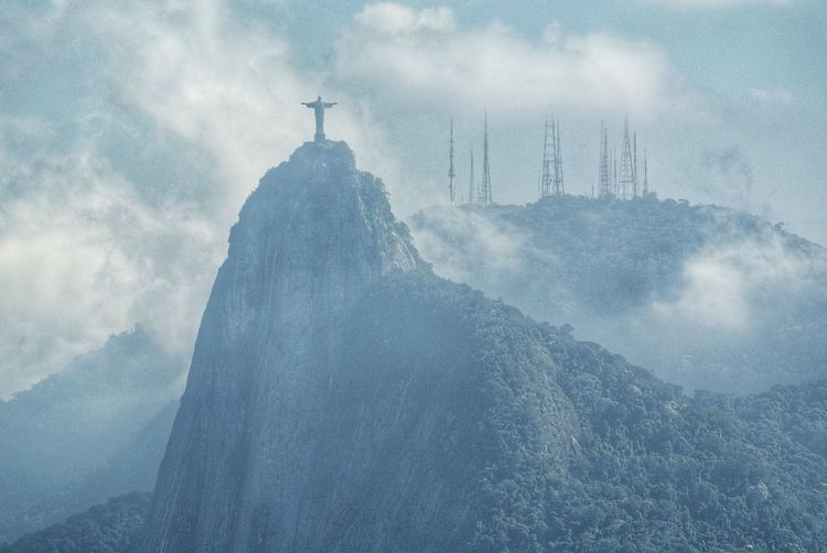 Corcovado. Rio de Janeiro. From Where I Stand View National Park Hunchback Sugarloaf Christo Redentor Tijuca Forest Granite Peak Corcovado Corcovado National Park Mountain Christ The Redeemer Rio De Janeiro Eyeem Fotos Collection⛵ Rio De Janeiro Brazil Travel Thunderstorm City Cold Temperature Storm Extreme Weather Weather Rain Spraying Sky Meteorology Cumulus Cloud Heaven