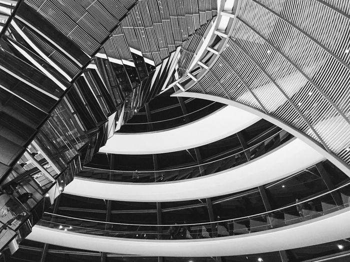 Architecture Architecture_bw Black & White Reichstag Norman Foster The Architect - 2016 EyeEm Awards Abstract Innovation
