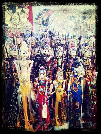 Wayang Art @ Mirota, Jogjakarta