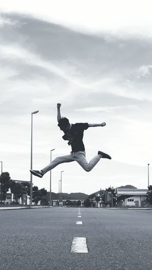 Sky Jump Shot Outdoors Balikpulau First Eyeem Photo EyeEmNewHere