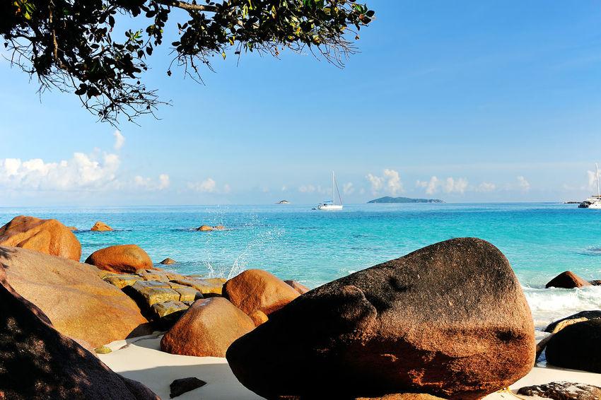 Anse Lazio, Beach on Island Praslin, Seychelles