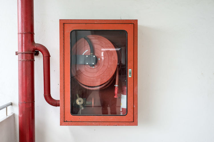 Accidents And Disasters Close-up Day Emergency Equipment Fire Alarm Indoors  No People Pay Phone Red Technology
