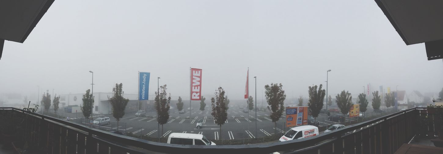 Foggy Morning Panorama