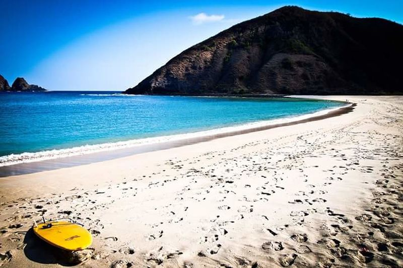 Beach Sea Sand Sky Summer Lombok-Indonesia Surfing Paradise Beauty In Nature Outdoors Coastline Water Horizon Over Water Vacations No People Travel Destinations Nature Day
