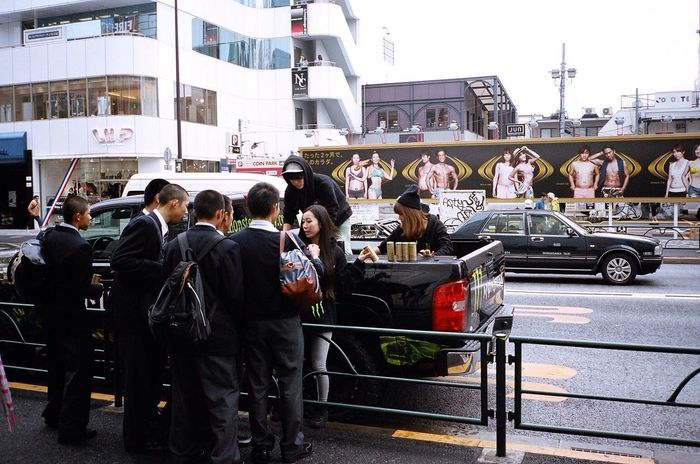 Kodak Portra Tokyo Harajuku Streetphotography