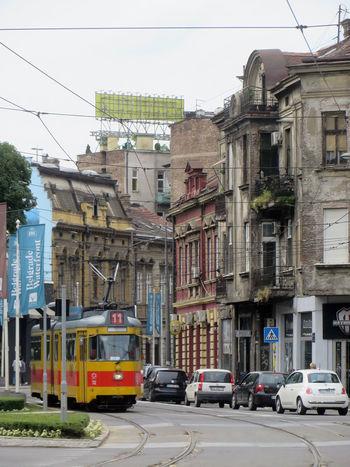 Belgrade Beograd Cityscape Eastern Europe Historic Architecture Old Town Serbia Tram
