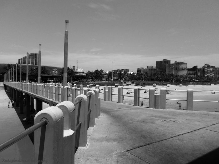 The most colourful thing in the world is black and white, it contains all colours and at the same time excludes all. EyeEmNewHere Architecture_bw Architecture Architecturephotography Blackandwhite Moyo Structures And Architecture Ushaka Ushaka Marine World Kwazulu Natal South Africa Mzantsi