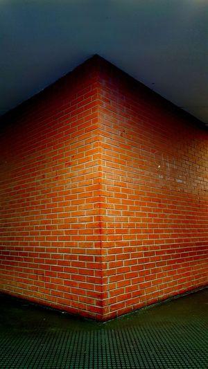 University Wall Orange Color Effect S6edge Photo Picoftheday Naples Italia Italy
