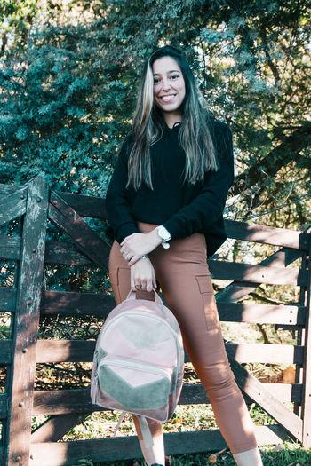 Fashion shot of beautiful young woman