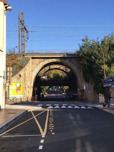 Nos voies se croisent Sign Road Nature Communication Transportation The Way Forward Arch Architecture City Street