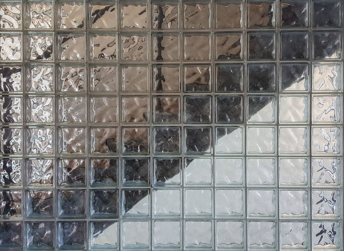 Architectural Feature Backgrounds Day Design Full Frame Glass Modern No People Pattern Repetition Stairs Walll