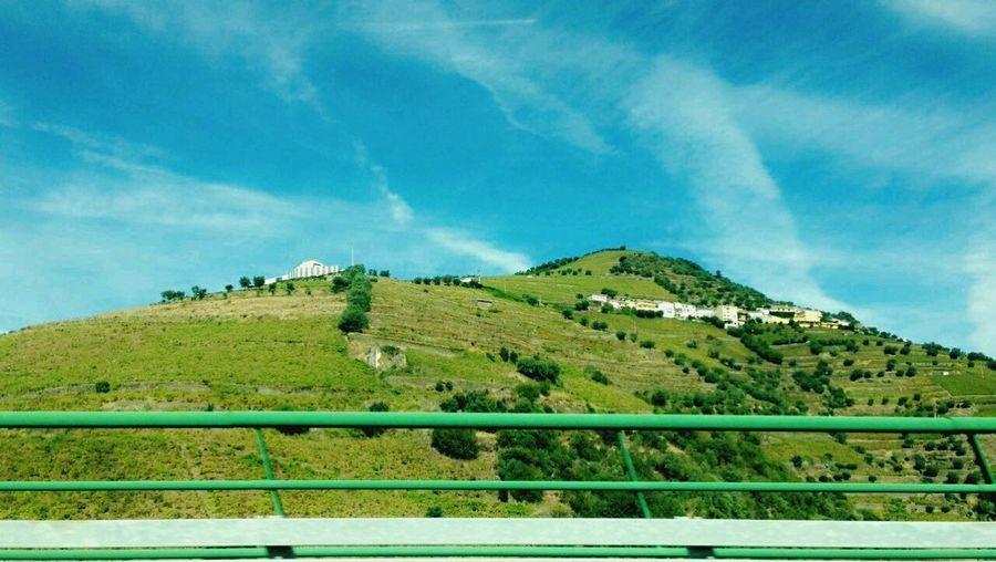 Lamego Portugal Landscape Nature Green Color