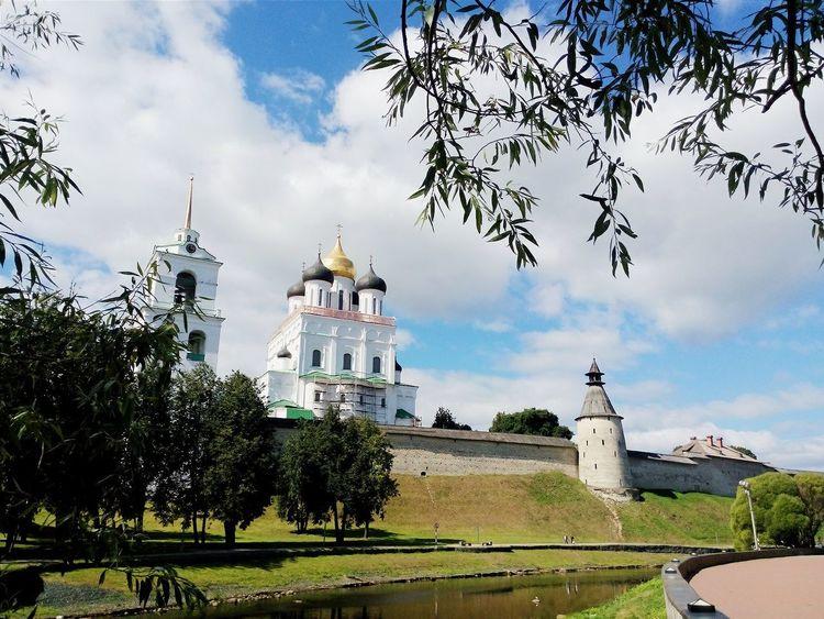 Russia Pskov Kremlin