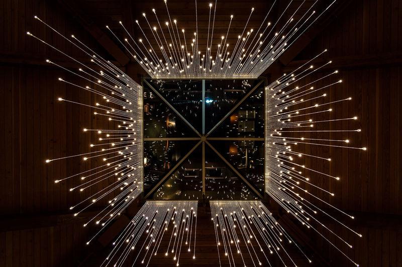 Bruce Munro: LIGHT at Nicholas Conservatory No People Illuminated Nicholasconservatory Light Night Indoors  Museum Brucemunro