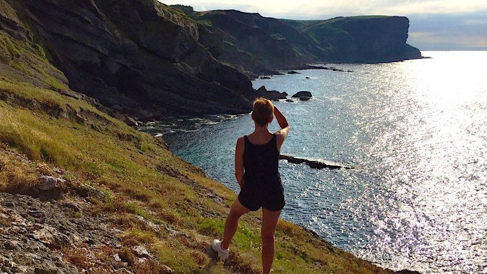 Hidden Gems  EyeEm Best Shots People Exploring Travel Enjoying Life Relaxing Hiking Landscape Nature Sea Scenics Cliff Cantabria Ajo