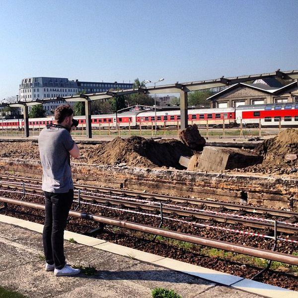 Train Station Warschauer Strasse #Berlin #Friedrichshain Under Construction Berlin Friedrichshain