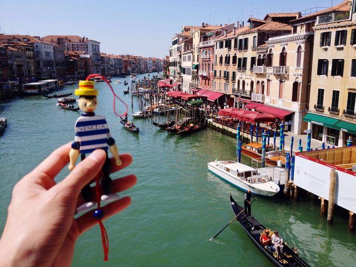 Holiday POV Guess where I am Hello World Enjoying Life Venezia Grand Canal Travel Pinocchio Chw2004