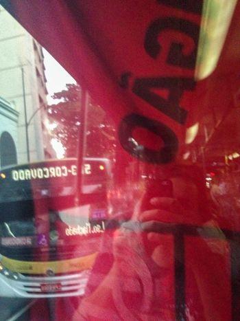 Brincando de Reflexo  no Ônibus  no bairro das Laranjeiras Rio De Janeiro Brasil Brazil Mengo Flamengo EyeEm Rio
