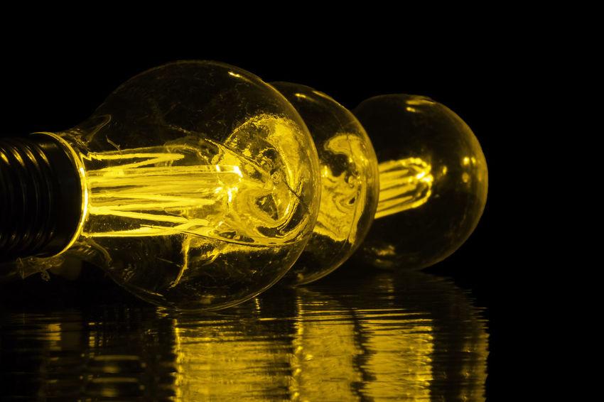 Antique Styled Light Bulb Antique Styled Light Bulb Close-up Electricity  Filament Filament Bulb Filament Light Glass Illuminated Light Bulb Reflection Studio Shot Technology