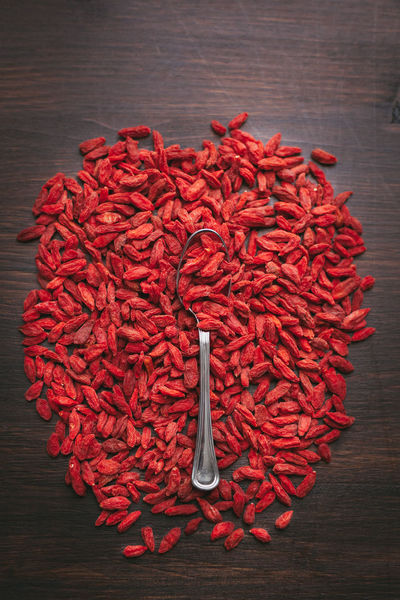 Abundance Close-up Day Dried Food Food Food And Drink Freshness Goji Gojiberries Healthy Eating Indoors  Large Group Of Objects No People Red Superfood Table