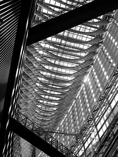 frames Tokyo International Forum Architecture Yurakucho Tokyo B&w