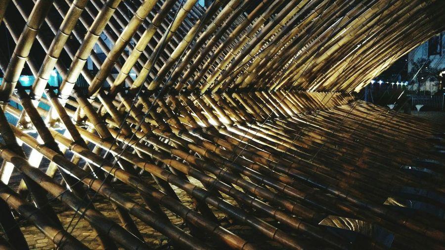Hong Kong Hong Kong Cultural Centre 香港文化中心 Art Piece Geometrical Patterns