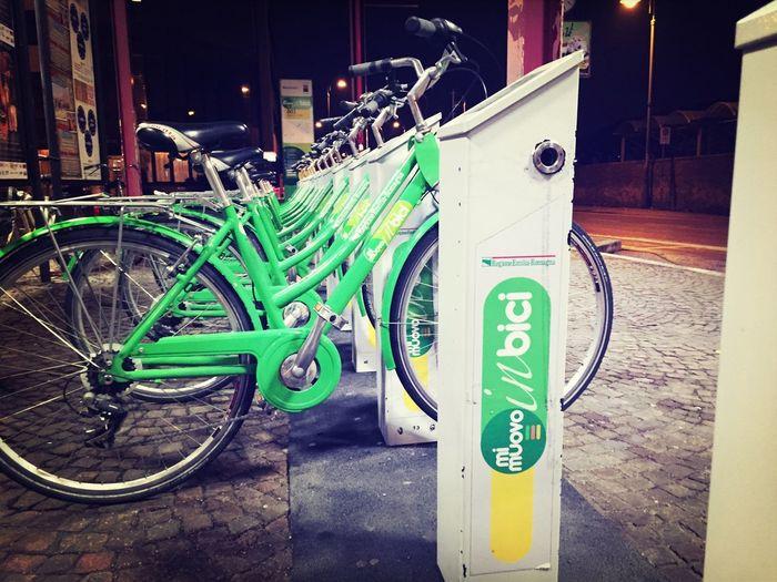 """Mi muovo"" in bici a Cesena Bikes SharingMobilita' Urbana Cesena Mimuovobikesharing"