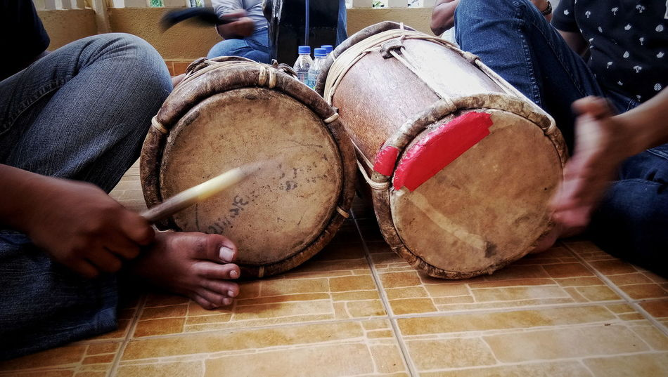 Traditional Drum. Indoors  Day Drum - Percussion Instrument Real People Traditional Music Music Photography  Tradisional Music For Wedding Event Music For Martial Art