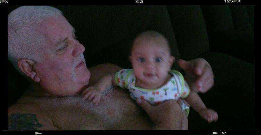 papa & baby :)