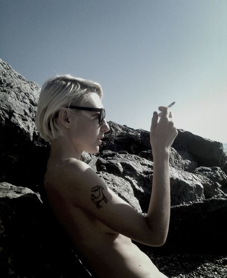 Tattoo Seascape Style Girl