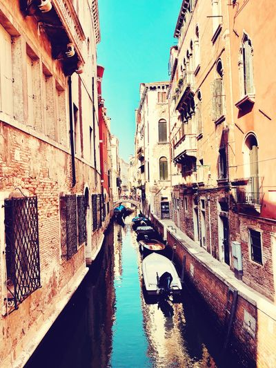 Venice Building Exterior Architecture Built Structure City Building Water Mode Of Transportation Transportation Nature Sky Residential District Reflection Day Motor Vehicle Outdoors Car Canal No People Street Land Vehicle