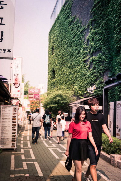 City Life Couple Eye Eye4photography  EyeEm Best Edits EyeEm Best Shots EyeEm Korea Light And Shadow Lovers Men People People Watching Street Streetphotography Urban Walking Around Women