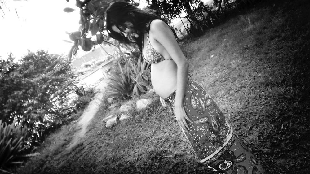 Pregnant Baby ❤ Blackandwhite Happiness 3months