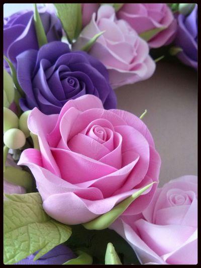 Çiçek Sanatı.. Decoclay Decoart Clayart Clayflowers