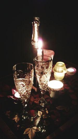Relaxing ДеньСвятогоВалентина свечиэтолюбовь свечи