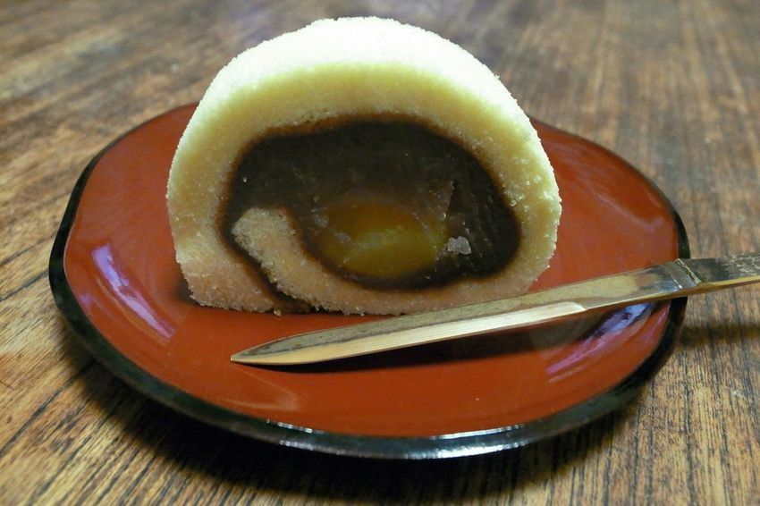 御栗タルト Anko Japanese Sweets Maron Citron Sweets Yummy Sweet Ricoh GRD III 愛媛銘菓の土産あり!御栗(おんくり)タルトを頂きました!柚子入ってますね(笑)。