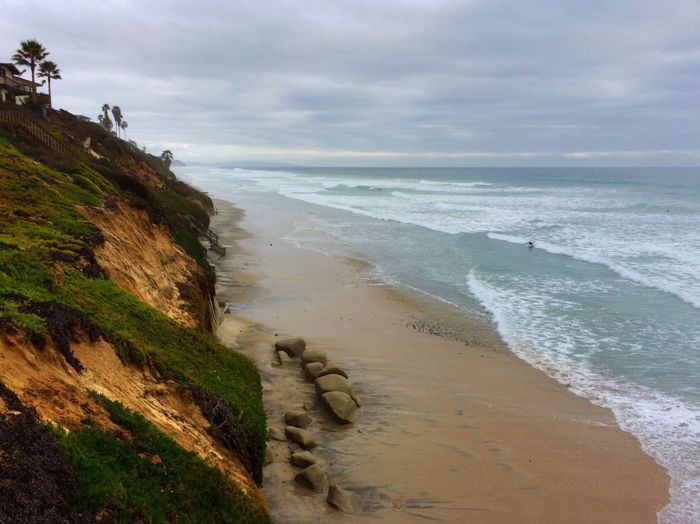 IPS2016Nature Beautiful Beach Beachscape Sand Surfing Surf Ocean Cliff Waves Nature Surf's Up
