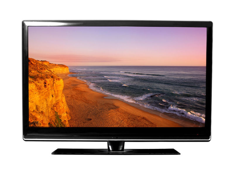 Computer Monitor Day Device Screen Film Industry Flat Screen Horizon Over Water Liquid-crystal Display Nature No People Sea Sunset Technology Television Set Wide Screen