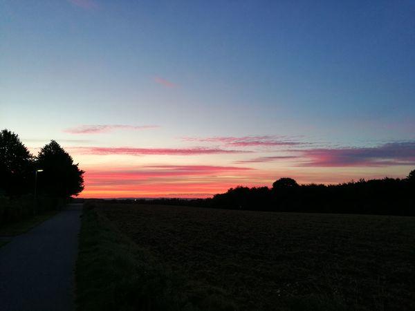 Sunrise Early Morning Aarhus, Denmark