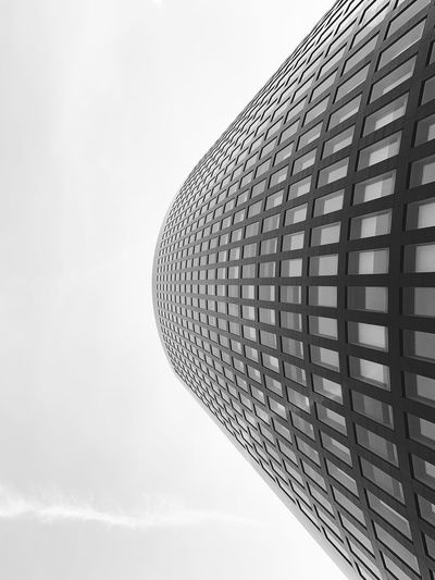 RWE Tower. Blackandwhite EyeEm Gallery EyeEm Masterclass EyeEmBestPics EyeEm Selects EyeEm Best Edits EyeEm Best Shots Skyporn Capture Close-up Check This Out Architectural Column Built Structure Sky Low Angle View Building Exterior Architecture No People Clear Sky Modern Tall - High Copy Space Building Day Design Outdoors Office Building Exterior Architectural Feature Tower Shape