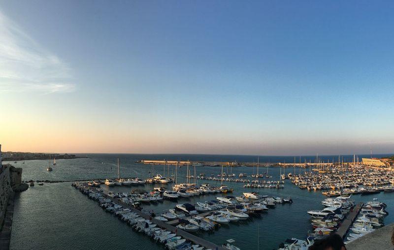 Il porto Sky