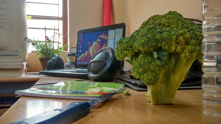 Best Morning Breakfast ♥ Broccoli in Iitkgp India