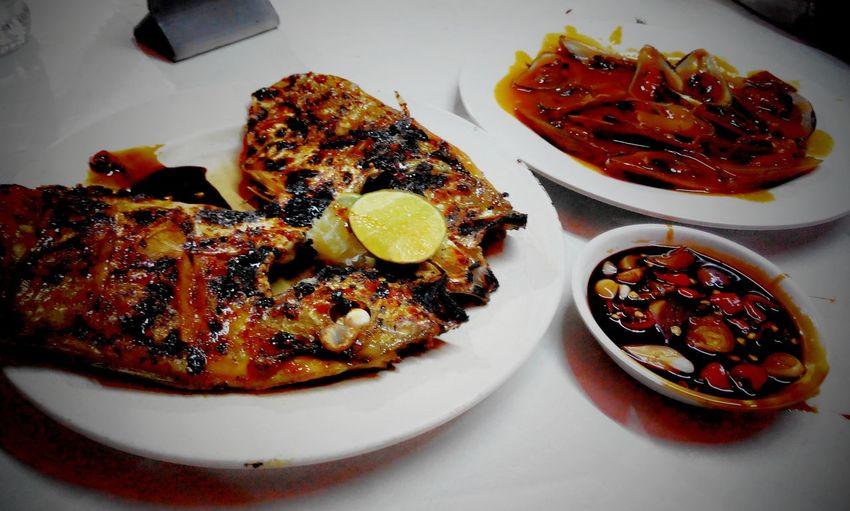 Enjoying A Meal Indonesian Street Food <3