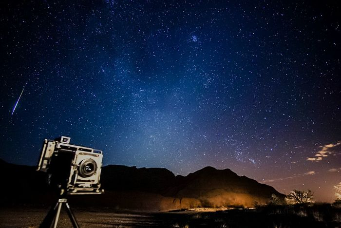 Falling Star Meteor Nightscape Astrophotography Vintage Camera Press Camera Speedgraphic Perseid Meteor Shower Perseid2016 Starscape Astronomy Nightphotography