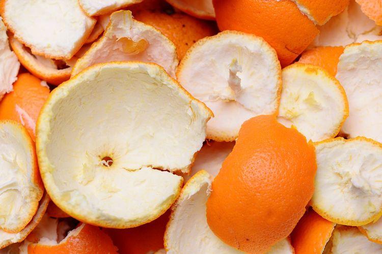 Orange peel Orange Rind Orange Skin Orange Peels Orange Food And Drink Food Freshness Wellbeing Healthy Eating Fruit Still Life Full Frame Close-up Backgrounds Orange Color