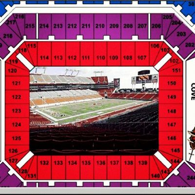Seats scored for the Kenny Chesney and Eric Church concert !!! Man what a view KennyChesney Ericchurch Seats Tampa raymondjamesstadium concert
